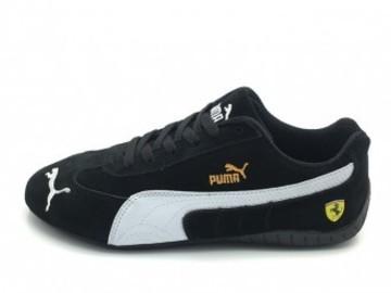 Vente avec paiement en ligne: Homme Puma Sparco Speed Noir/Blanc
