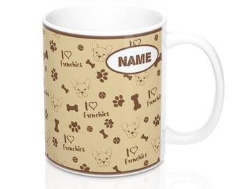 Selling: Free Shipping - French Bulldog Mug - Can be Personalized