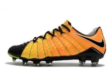 Vente avec paiement en ligne: Homme Nike Hypervenom Phantom III FG Orange/Noir
