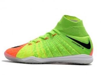 Vente avec paiement en ligne: Homme Nike HypervenomX Proximo II DF IC Vert/Rouge