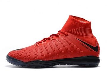 Vente avec paiement en ligne: Homme Nike HypervenomX Proximo II DF TF Rouge/Noir