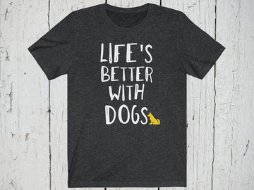 Selling: Free Shipping Dog Lover T-Shirt Men's / Unisex
