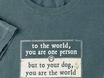 Selling: To The World, You Are One Person - T-shirt