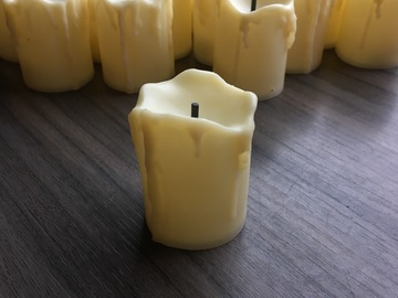 Ilmoitus: Led-kynttilät ja tuikut