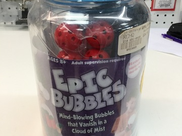 Selling: Epic Bubbles