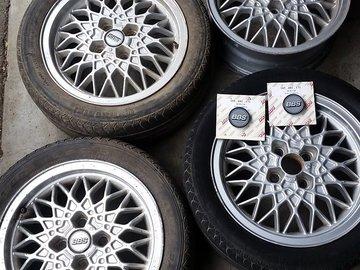 "Selling: BBS RA's Factory VW 4x100 15""x6"""
