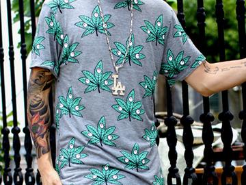 Vente avec paiement en ligne: Drôle D'impression T-shirt Hommes Hip Hop Grande Taille Cool