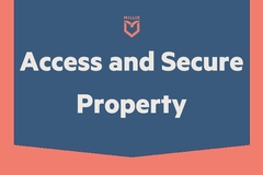 Task: Access and scure property