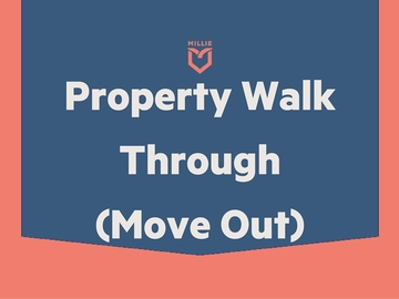 Task: Move out property walk thru