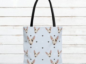 Selling: Free Shipping - Bull Terrier Tote Bag