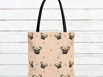 Selling: Free Shipping - Pug Tote Bag