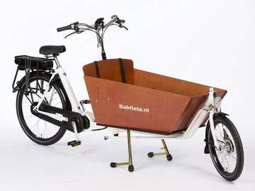 Daily Rate: Bakfiets e-cargobike (weekly rate)