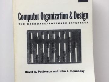 Selling: Computer Organization & Design
