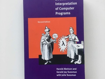 Selling: Structure and Interpretation of Computer Programs (SCIP)