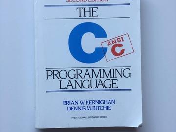 Selling: The C programming language