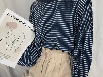 Vente avec paiement en ligne: T Shirt Femme 2018 Printemps Automne Modèle Coréen Ulzzang