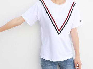 Vente avec paiement en ligne: Jielur 9 Style Lettre Cool Imprimer T-shirt Femmes D'été