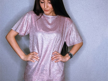 Vente avec paiement en ligne: Vetemen Femme Bling T Chemises 2018 Femmes Coréennes