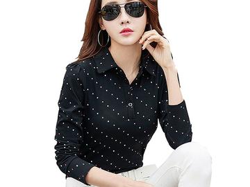 Vente avec paiement en ligne: À Manches Longues T-shirt Femmes T Shirt Coton T-shirt Femme