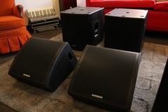 Renting out: Full PA System