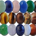 Buy Now: 150--Genuine Semi Precious 18/13mm Oval Cabachons  $1.00 pcs