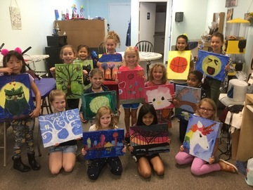 Request To Book & Pay In-Person (hourly/per party package pricing): Carefree Kids Painting Party