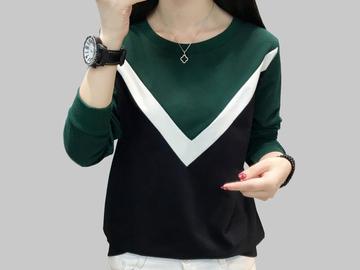 Vente avec paiement en ligne: manches longues t-shirt femmes t-shirt drôle chemise