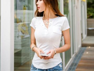 Vente avec paiement en ligne: t shirt femmes t-shirt d'été top drôle