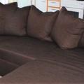 Selling: Ruskea vuodesohva / divaani (sofa-bed/divan)