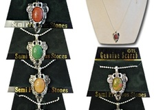 Buy Now: 40- Genuine Stone Scarab Necklaces-- $2.50 pcs!
