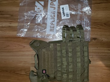 Selling: ZShot Crye JPC 2.0 Zip-On Pack Coyote Brown Large