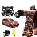 Buy Now: LOT OF 8 Car to robot transformation, remote control robot