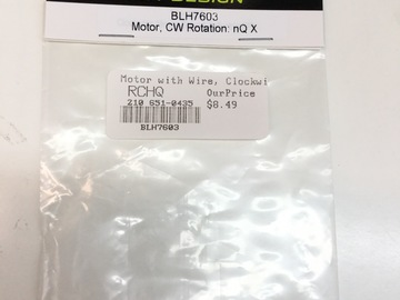 Selling: Clockwise motor for Nano QX
