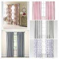 Buy Now: 20 Curtain Panels and Sheers - Variety of Styles and Brands