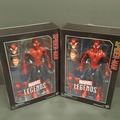 "Buy Now: 2 x Authentic Marvel Spiderman Action 12"" Figures By Hasbro"