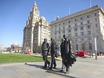 Offering with online payment: Beatles walking tour, Cavern Club & Beatles Story for two.
