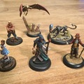 Learn a skill (one-on-one): Painting game miniatures