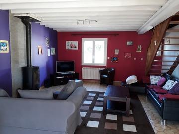 Location par jour: Maison F5 - Portbail (130m²)