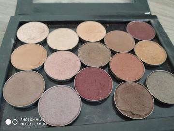 Venta: Pack de 15 sombras de make up geek