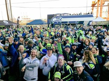 Paid Events: Hawk Alley Tailgate --- Seahawks!!!