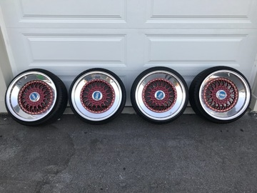 Selling: BBS RS 18x10 5x11.4.3 and 5x112
