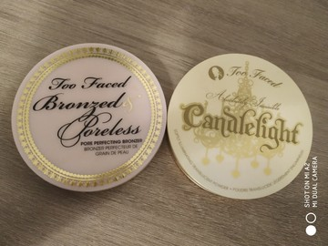 Venta: Pack Too Faced Bronzed&poreless y Candlelight
