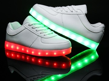 Buy Now: Lot of 12 LED Light up shoes . Great seller for Christmas