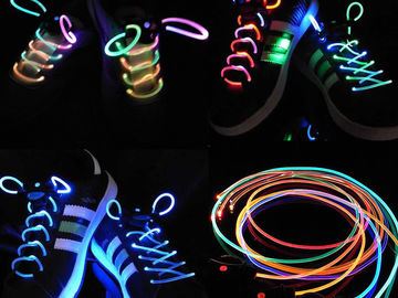 Buy Now: Lot of 200 LED light up shoe laces . 10 different colors
