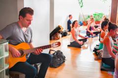 Services (Per Hour Pricing): Yoga & Guitar