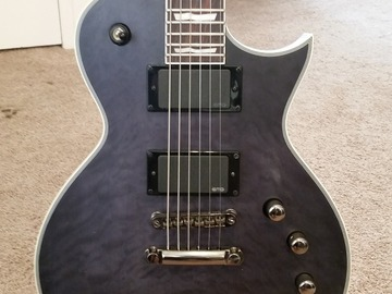 Renting out: LTD EC-401QM Electric Guitar