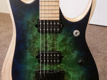 Renting out: Ibanez Iron Label RGD Series RGDIX6MPB