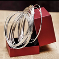 Buy Now: Lot of 90 18k white gold plated Indian style bangles