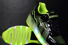 Buy Now: Lot of 12 LED Heeley light up shoes . Very unique,