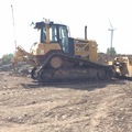 Hourly Equipment Rental: Caterpillar D6N with ripper GPS ready